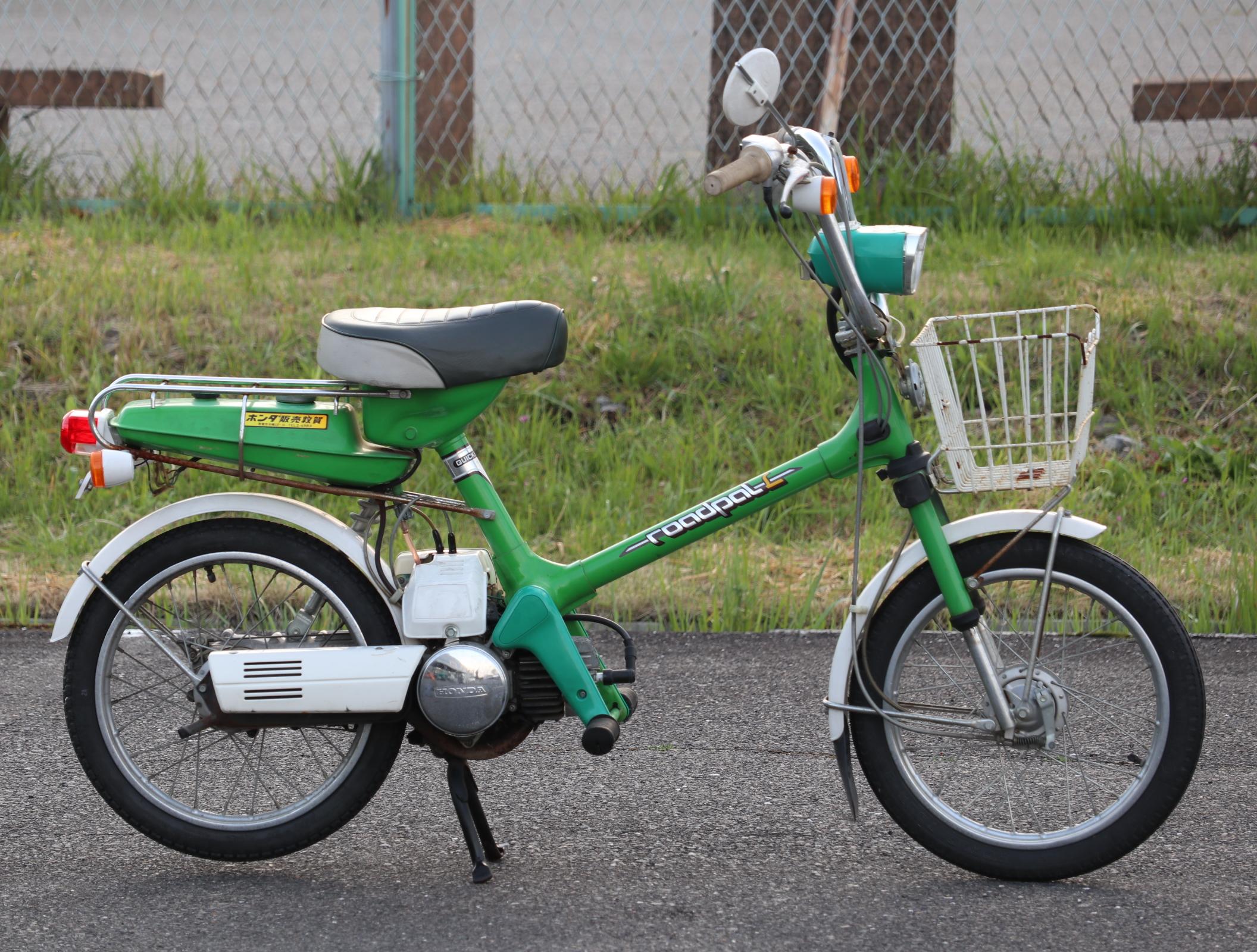 ホンダ ロードパルL 緑