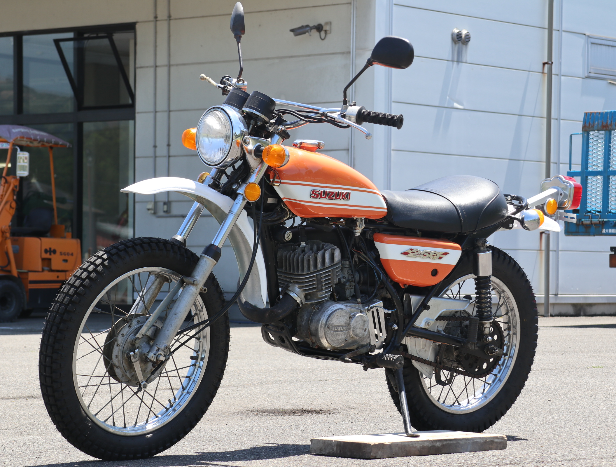 スズキ ハスラー TS250 オレンジ