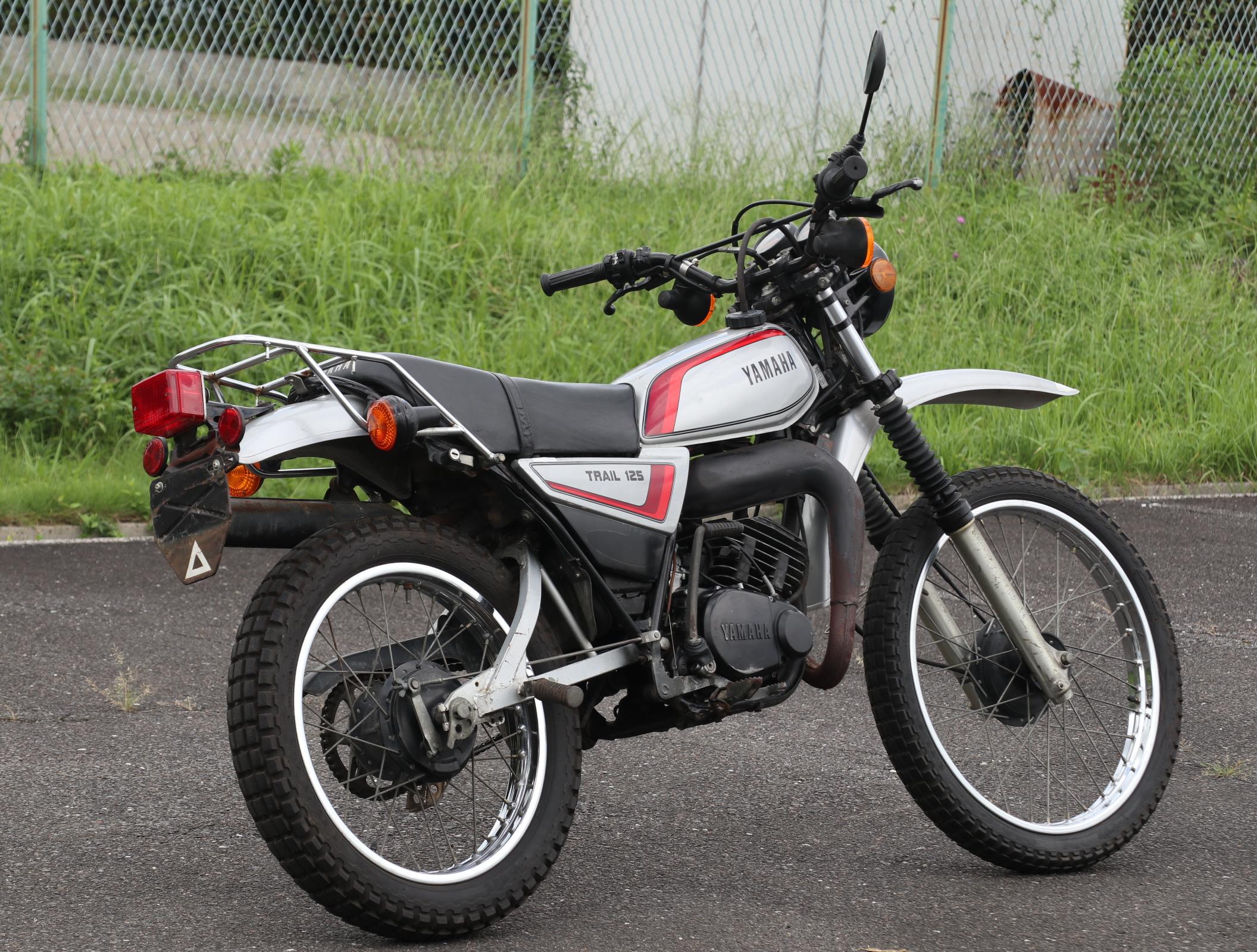 ヤマハ DT125 シルバー