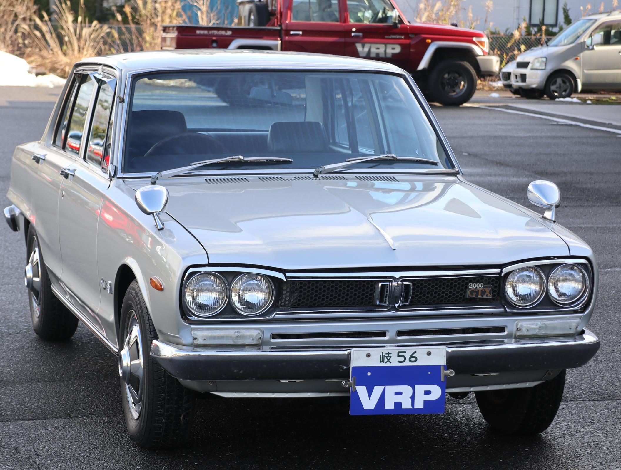 ニッサン ハコスカ GT-X S47 シルバー