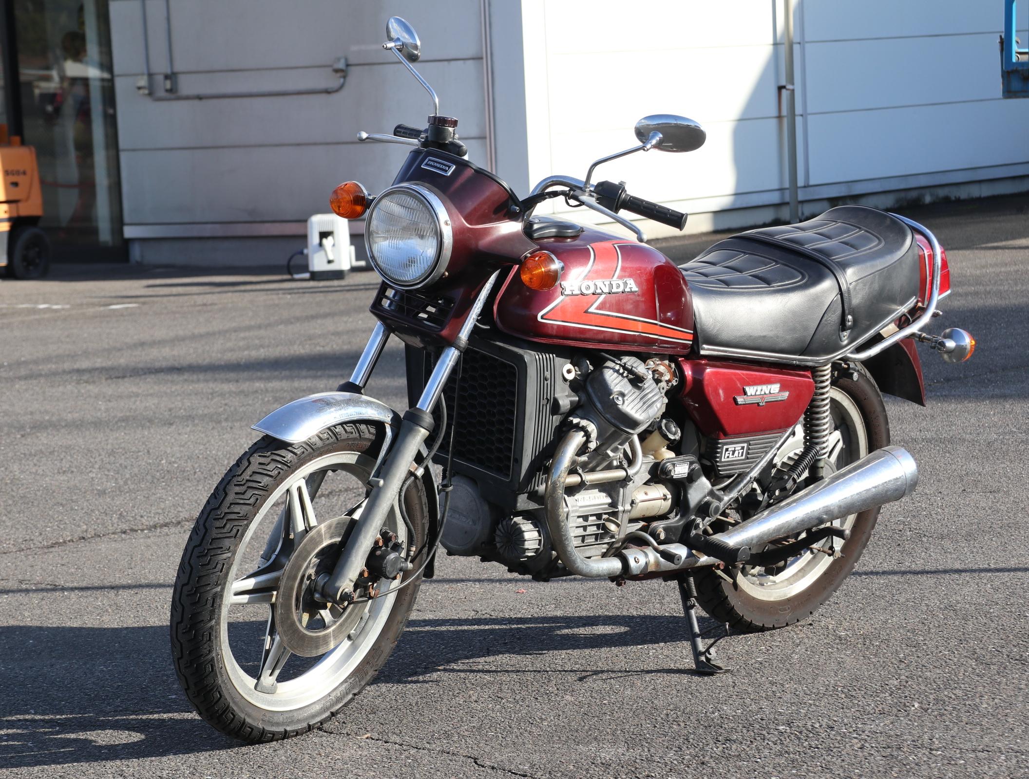 ホンダ ウィングGL500 エンジ