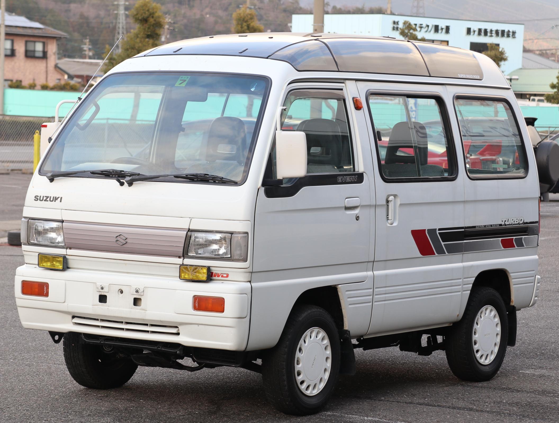 スズキ エブリィ 550ターボRXスーパーマルチルーフ 4WD