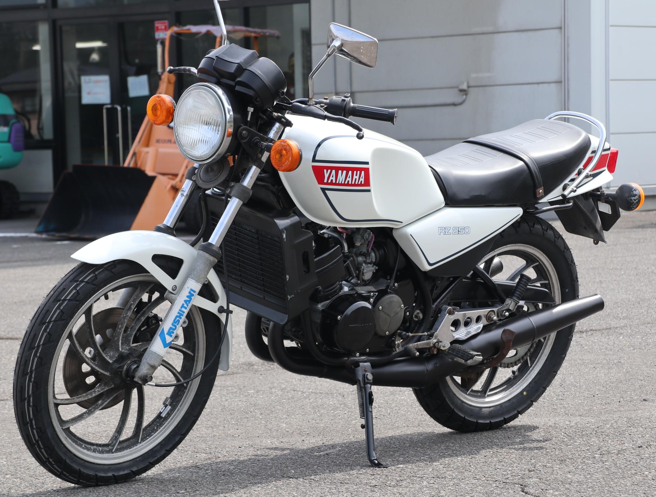 ヤマハ RZ250 白