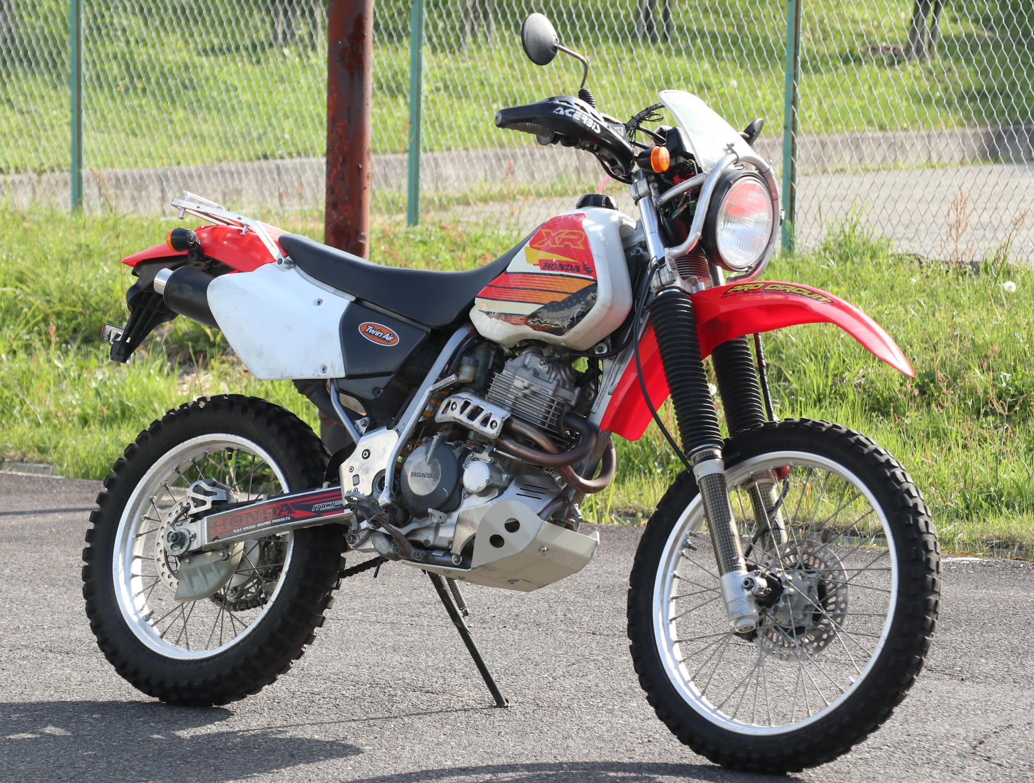 ホンダ XR400R 赤白